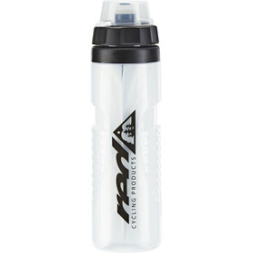Red Cycling Products Bike Thermobottle - Bidon - 650ml noir/transparent